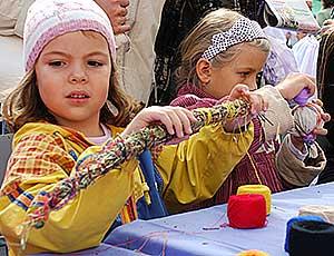 Майстер-клас ляльки-мотанки для дітей