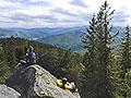 На вершині гори Пірс-Дора